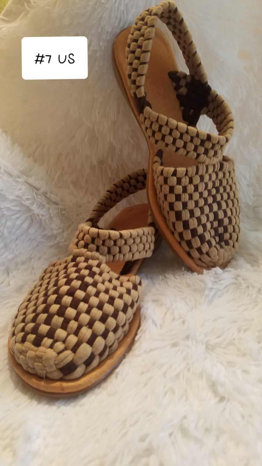 Sandalias Mujer De Sandals Mexican Woven TejidasHandmade 4ALj53R